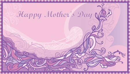 Vector background  Congratulations on Mother Vector