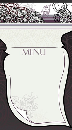 Making the page restaurant menu Stock Vector - 13404487