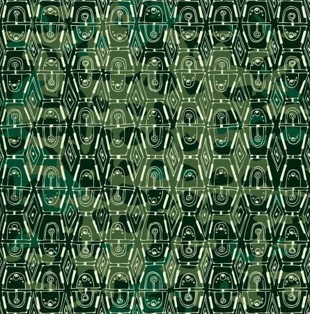 Dark seamless background  Painted decorative grid  The color of camouflage  Vector