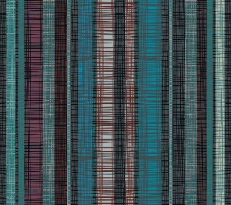 grid paper: Seamless striped decor  Dark lines create the effect weave fabric