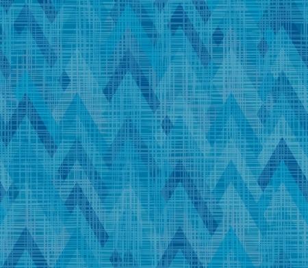 Blue seamless chevrons incrustation texture tissu à armure asymétrique en zigzag