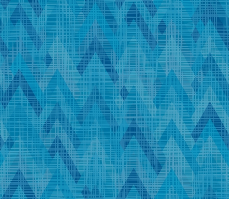 herringbone background: Blue seamless herringbone inlay  Texture fabric weave  asymmetric zigzag  Illustration