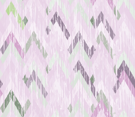 herringbone background: Bright seamless herringbone inlay  Texture scratched the surface  Asymmetric zigzag  Illustration