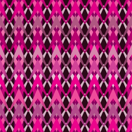 Bright seamless inlay of zigzags  Weave of polylines   Vector