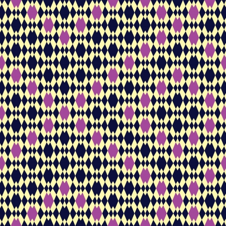 damask pattern: Seamless inlay of diamonds  Effect pattern