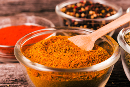 exotically: Close up exotically spice mix