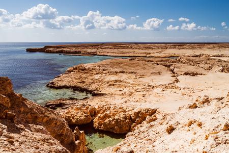 mohammed: Coast line in  Ras Mohammed in Sinai, Egypt.