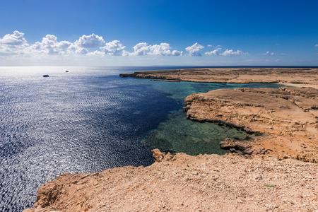 mohammed: View on coast in national park Ras Mohammed in Sinai, Egypt.