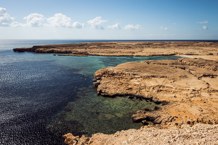 mohammed: Sea view. National park Ras Mohammed in Sinai, Egypt.