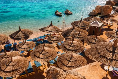 sinai: Red Sea coastline  in  Sharm El Sheikh,  Egypt, Sinai