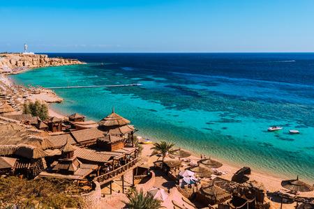 egypt: Red Sea coastline  in  Sharm El Sheikh,  Egypt, Sinai