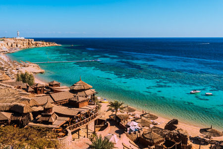 Wybrzeża Morza Czerwonego w Sharm El Sheikh, Egipt, Synaj