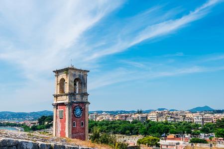 greece: Historic center of Kerkyra town on the island of Corfu in Greece.