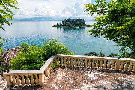 corfu: Mouse island on Corfu, Greece
