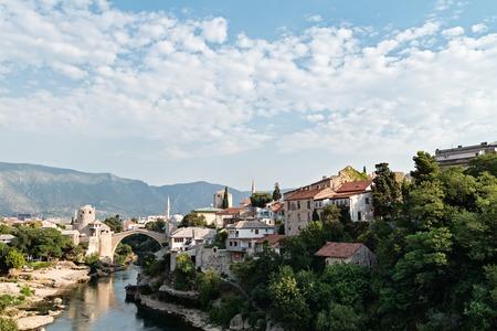Mostar, Bosnia and Herzegovina. Standard-Bild