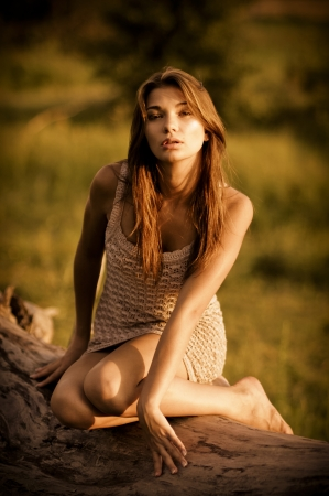 young sexy woman photo