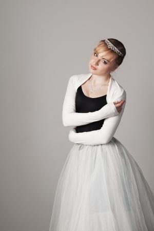 portrait of a ballerina Stock Photo - 13687445