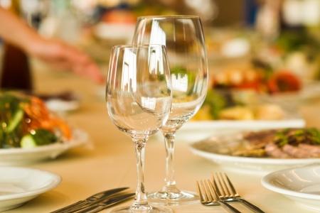 serving in restaurant photo