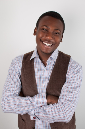 African student, Business  man  portraits, studio shot photo