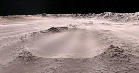 달 과학적인 그림 - 차분한 달 풍경 스톡 콘텐츠