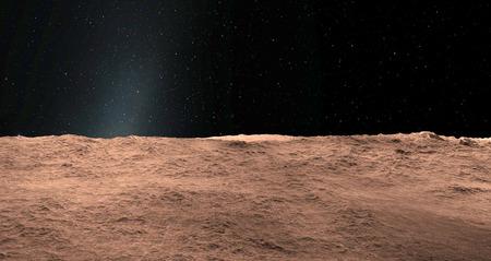 Moon scientific illustration - calm beautyful moon landscape 版權商用圖片