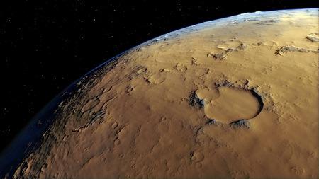 nibiru: Image of fantastic planet Procedural generatet 3d picture