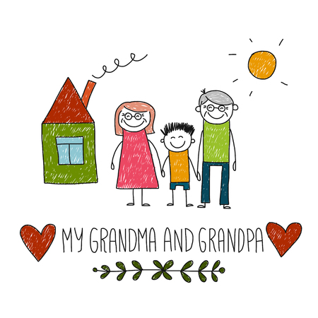 love image: Image of how I love my grandparents