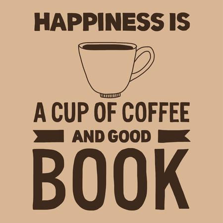 alimentos y bebidas: Letras de la cita sobre el café. estilo de la caligrafía moderna. la imagen exhausta