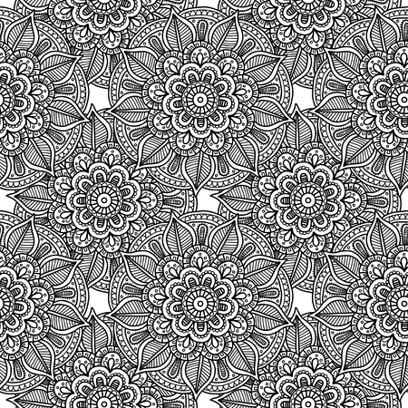 decorative pattern for adult coloring book wallpapers hand drawn stock photo picture and royalty free image image 70427149 - Coloring Book Wallpaper