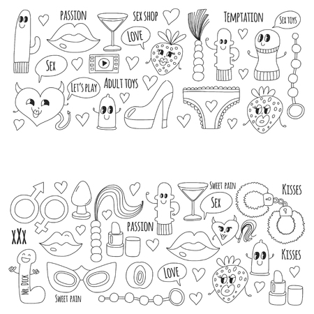 Doodle humoristischen Vektor. Standard-Bild - 76075074
