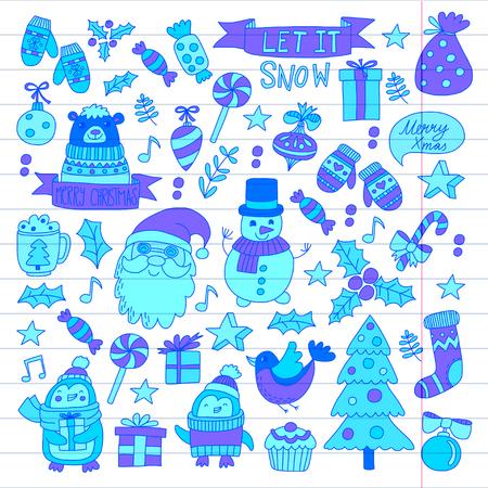 Kerstmis Nieuwjaar ontwerp.