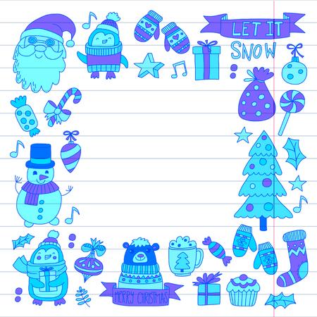 Kerstmis Nieuwjaar ontwerp. Stockfoto - 85213571