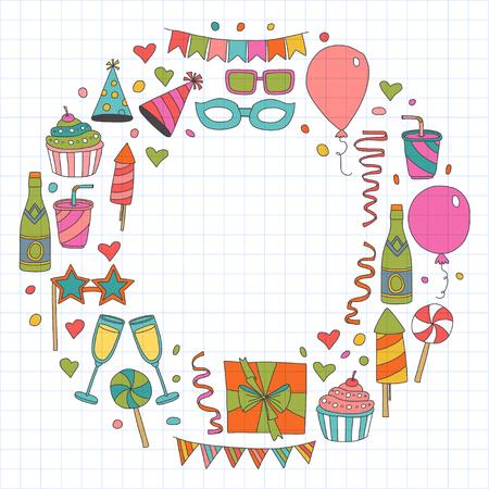 Birthday party design elements