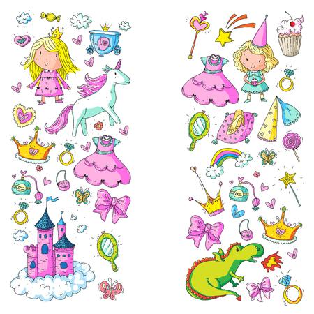 Big Bundle cute collection of beautiful princesses design.