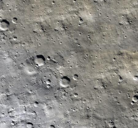 달 표면입니다. 달과 공간의 현실적인 3d 렌더링합니다. 우주와 행성. 위성. 성운. 별.