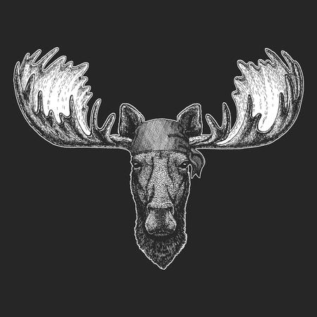 Moos patch t-shirt