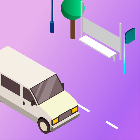 Vector trasportation illustration. Icons of transport. Travel design, isolated image of vehicle. Traffic and speed concept