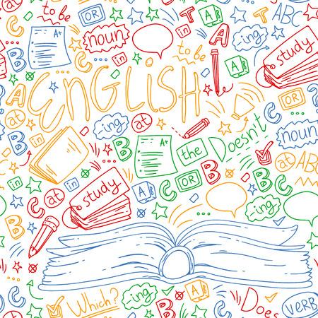 Scuola di lingue per adulti, bambini. Corsi di inglese, classe.
