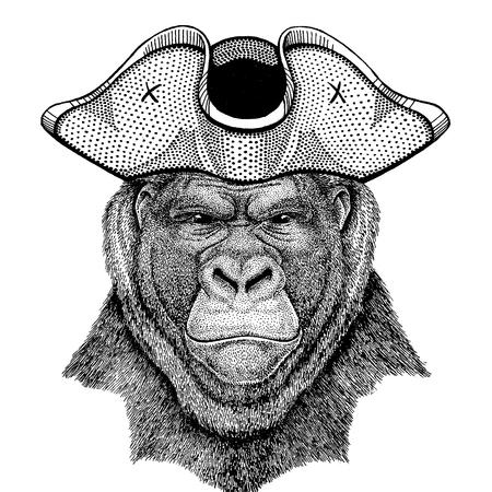 Gorilla, monkey, ape Stock fotó - 118920176
