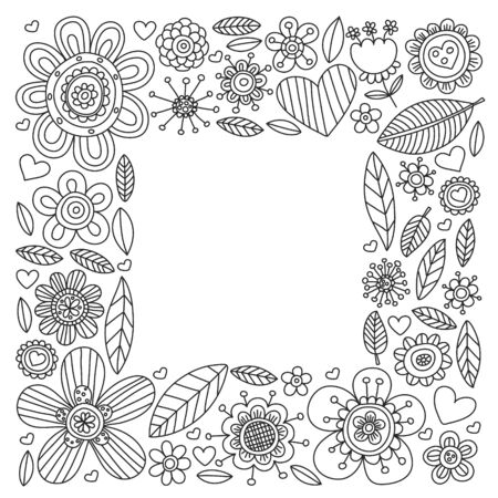 Pattern doodle background with vector icons. Video TV. Movie, cinema set. 일러스트