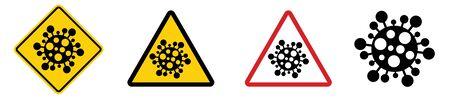 Coronavirus COVID-19. Vector illustration. 免版税图像 - 150283646