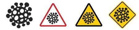 Coronavirus COVID-19. Vector illustration. 免版税图像 - 150283652