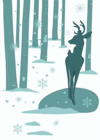 deer Stock Vector - 15302379