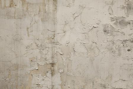 Vecchia priorità bassa o struttura bianca della parete del grunge