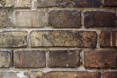 Dark brick background texture
