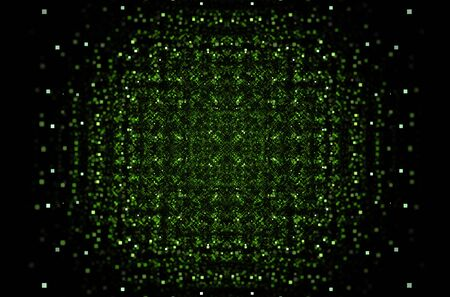Green abstract pattern background for concept design. Geometric line pattern
