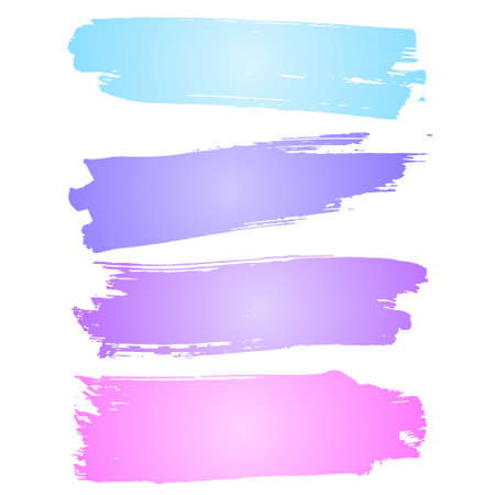 smears: Smears watercolors. Set watercolor brush strokes. Samples for design watercolors. Vector watercolor. Watercolor splashes.