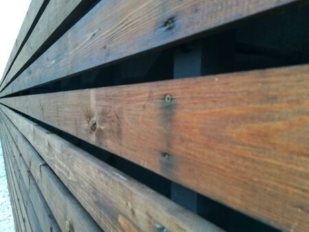 Wooden Wall Texture. Planed painted boards. Rustic Abstract Background.