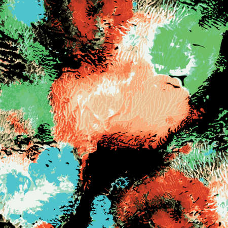 bright: bright painted watercolor texture