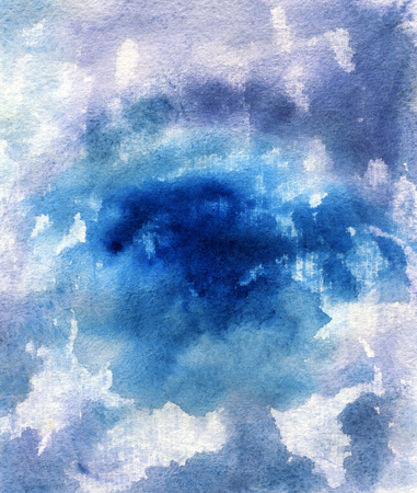 canvas print: Bright painted watercolor texture. Hand drawn background with text place.